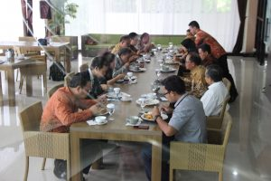 Lunch with Speakers, Vice Rector UNS , Director and Vice Director Graduate School UNS
