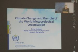 Video Conference Keynote Speaker of WMO