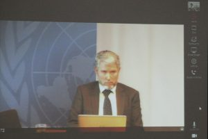 Keynote Speaker (Omar Baddur, Secretary General of WMO)