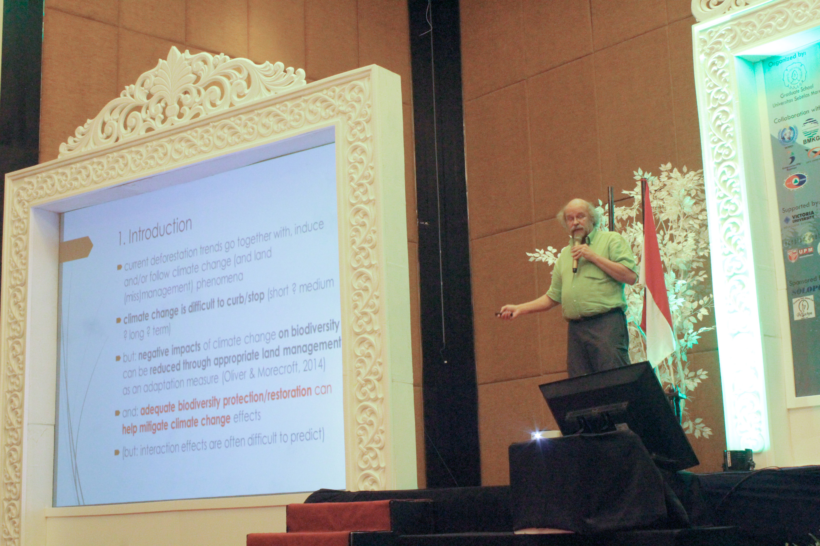 Main speaker session 3, Prof. Dr. Patrick Van Damme
